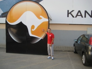 Paulo Sena no Kangaroo Health Club - Barreiro