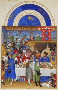 Les Très Riches Heures du duc de Berry; Janvier