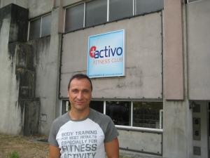 Paulo Sena no ginásio Mais Activo em Guimarães