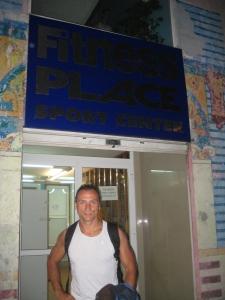 Paulo Sena no Fitness place em Vigo