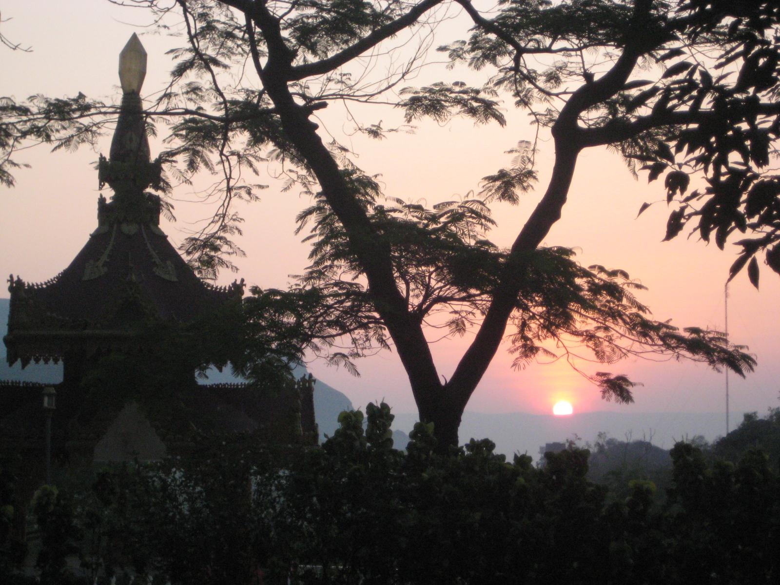Sunrise at Igatpuri