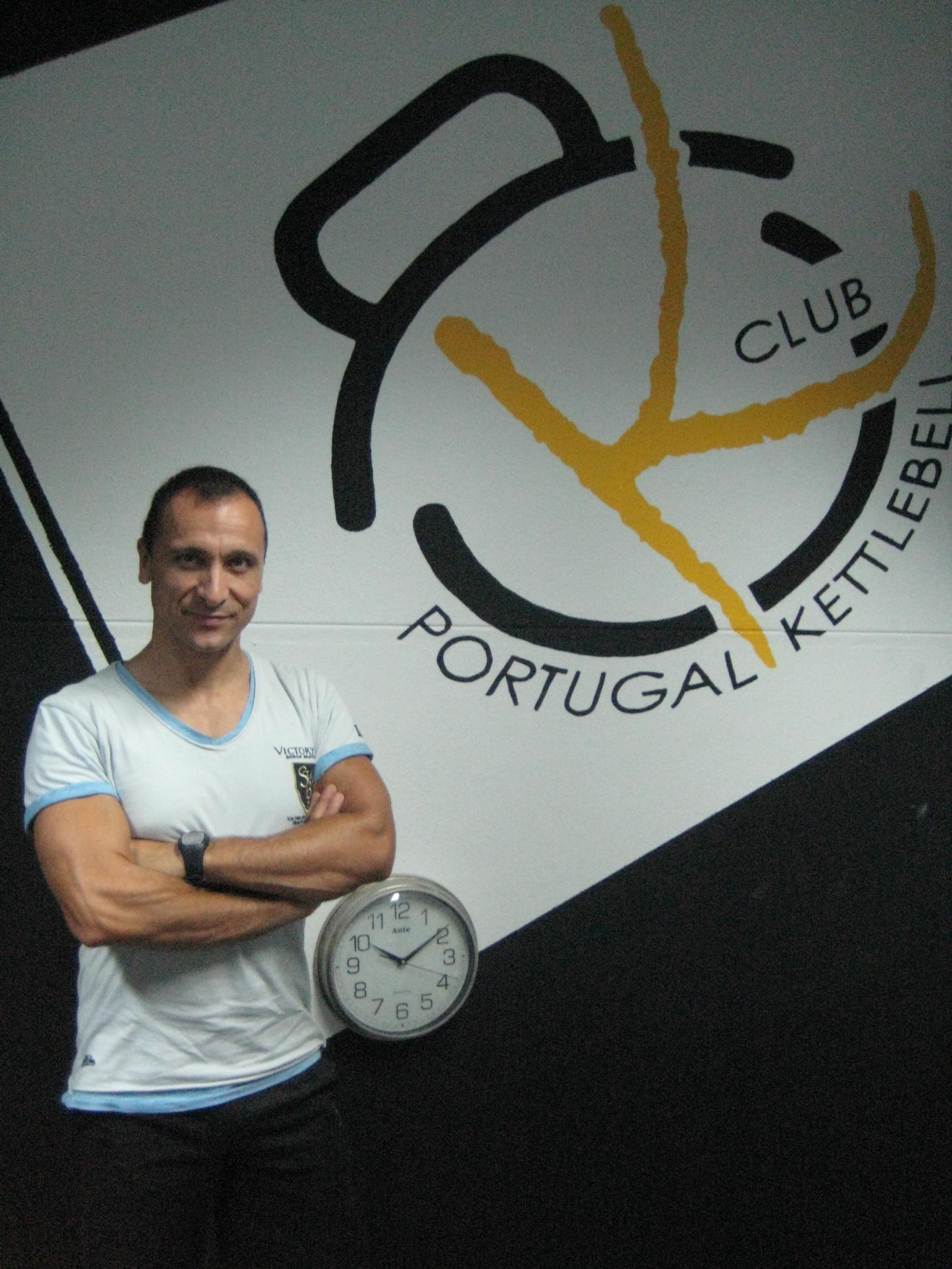 Paulo Sena no Portugal KB Club