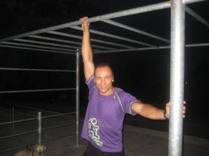 Paulo Sena no Street Workout Park de Fafe