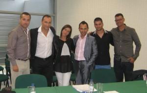 Hugo Louro, Paulo Sena, Susana Alves, Luís Cid, Eduardo Ramos e João Moutão