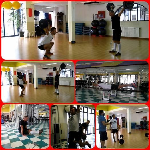 Paulo Sena e Carlos Pinto a treinar em Vila Pouca de Aguiar