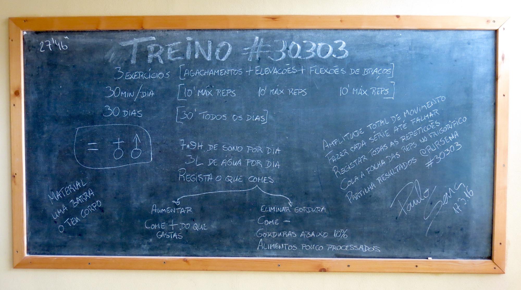 Treino #30303