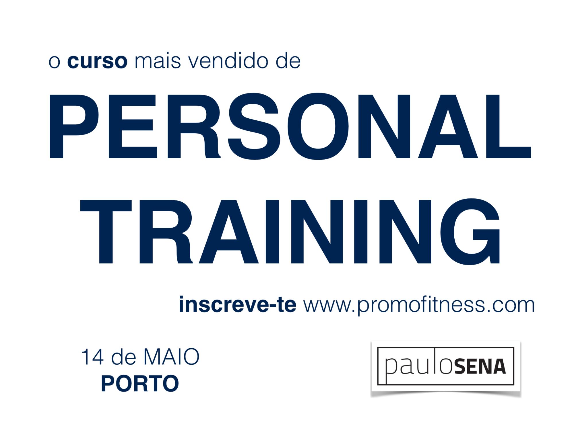 Curso de Personal Training com Paulo Sena